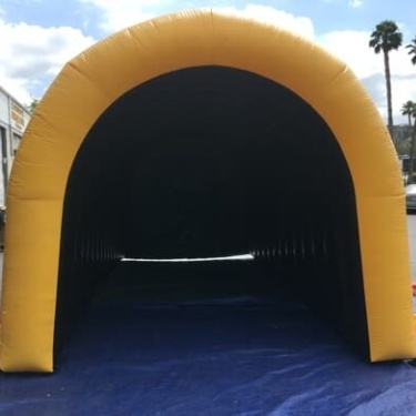 Inflatable Misting Tunnels